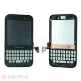 Blackberry Q5 LCD and Digitizer Touch Screen Assembly 17 pins connection
