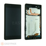 Sony Xperia Z5 LCD and Digitizer Touch Screen Assembly with Frame [Black]