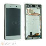 Sony Xperia Z5 LCD and Digitizer Touch Screen Assembly with Frame [White]