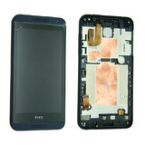 HTC Desire 610 LCD and Digitizer Touch Screen Assembly With Frame [Blue]