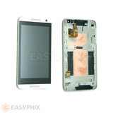HTC Desire 610 LCD and Digitizer Touch Screen Assembly With Frame [White]