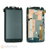 HTC One XL LCD and Digitizer Touch Screen Assembly with frame