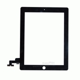 Digitizer Touch Screen with Adhesive Tape for iPad 2  [Black]