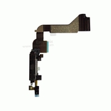 Charging Port Flex Cable with Microphone [Black] for iPhone 4G