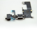 Charging Port USB Connector Dock Headphone Jack Flex Cable [Black] for iPhone 5G