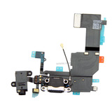 Charging Port USB Plug In Connector Dock Headphone Jack Flex Cable [Black] for iPhone 5C