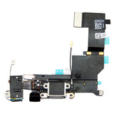 Charging Port USB Plug In Connector Dock Headphone Jack Flex Cable [White] for iPhone 5S