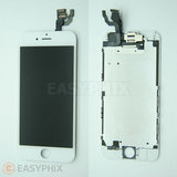 "LCD and Digitizer Touch Screen Assembly with Small Parts for iPhone 6 4.7"" [White]"