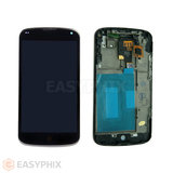 LG Nexus 4 E960 LCD and Digitizer Touch Screen Assembly with Frame