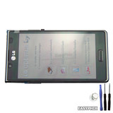 LG Optimus L7 P700 P705 LCD and Digitizer Touch Screen Assembly with Frame [Black]