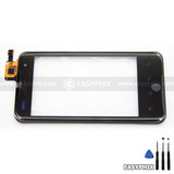 LG Optimus 2X P990 Digitizer Touch Screen with Frame [Black]