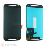 Motorola Moto G2 XT1068 LCD and Digitizer Touch Screen Assembly [Black]