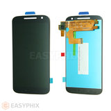 Motorola Moto G4 LCD and Digitizer Touch Screen Assembly [Black]