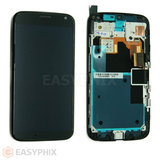 Motorola Moto X LCD and Digitizer Touch Screen Assembly with Frame [Black]