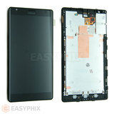 Nokia Lumia 1520 LCD and Digitizer Touch Screen Assembly With Frame [Black]
