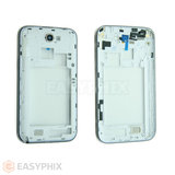 Samsung Galaxy Note 2 N7100 Rear Housing with Camera Lens [White]
