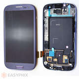 Samsung Galaxy S3 I9300 LCD and Digitizer Touch Screen Assembly with Frame [Blue]