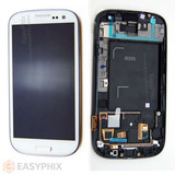 Samsung Galaxy S3 4G I9305 LCD and Digitizer Touch Screen Assembly with Frame [White]