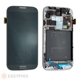 Samsung Galaxy S4 i9505 LCD and Digitizer Touch Screen Assembly with Frame [Black]