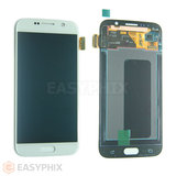 LCD and Digitizer Touch Screen Assembly for Samsung Galaxy S6 G920 [White]