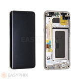LCD and Digitizer Touch Screen Assembly with Frame for Samsung Galaxy S8 Plus G955 [Gold]