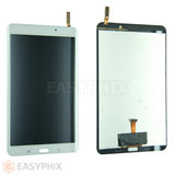 Samsung Galaxy Tab 4 8.0 T330 LCD and Digitizer Touch Screen Assembly [White]