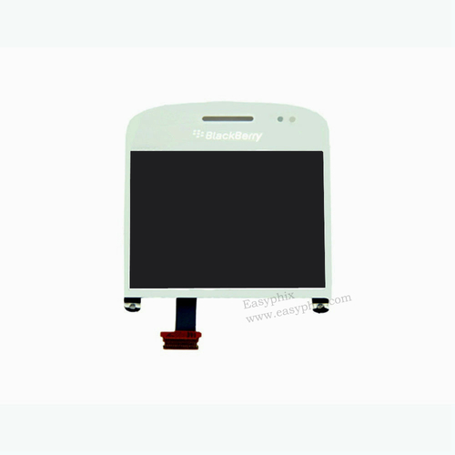Blackberry 9900 LCD and Digitizer Touch Screen Assembly Version 001 [White]