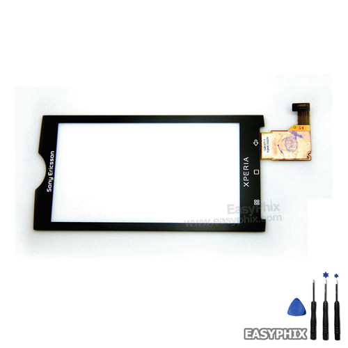 Sony Ericsson Xperia X10 Digitizer Touch Screen Black