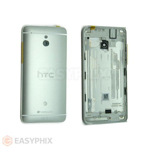 HTC One Mini Back Cover with Camera Lens [Silver]