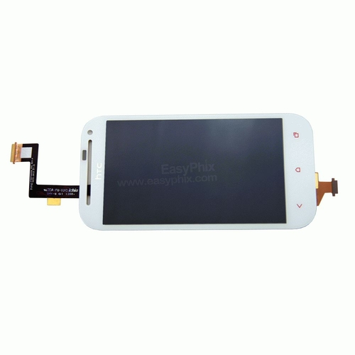 HTC One SV LCD and Digitizer Touch Screen Assembly [White]