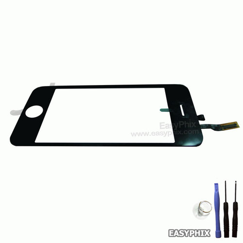 Digitizer Touch Screen with Adhesive Tape for iPhone 3GS