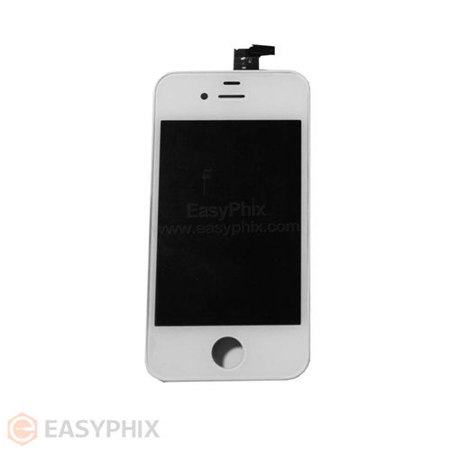 LCD and Digitizer Touch Screen Assembly for iPhone 4G (High Quality) [White]
