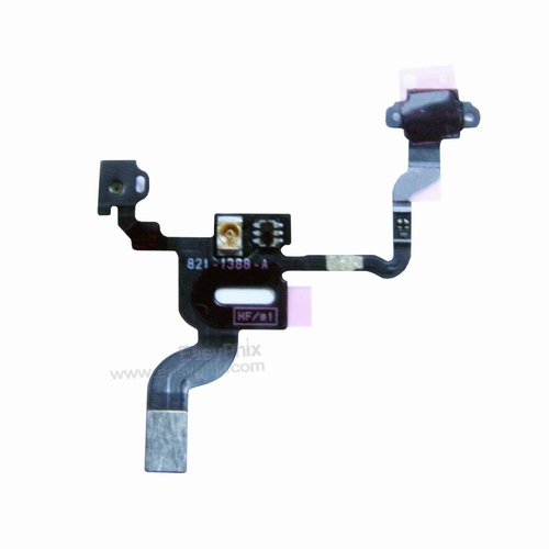 Proximity Light Motion Sensor Power Switch On Off Button Flex Cable for iPhone 4G