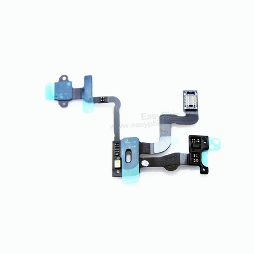 Proximity Light Motion Sensor Power Switch On Off Button Flex Cable for iPhone 4S