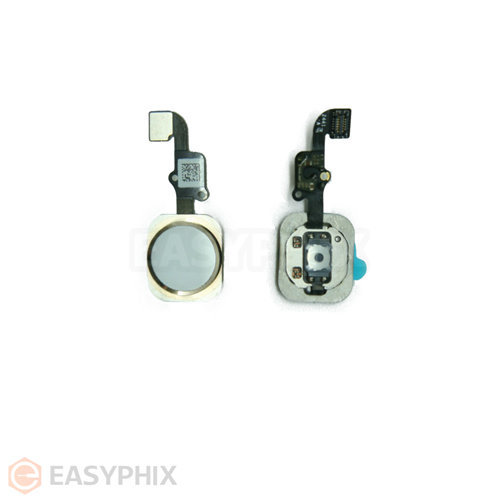 "Home Button Flex Cable Assembly for iPhone 6 4.7"" / 6 Plus 5.5"" [Gold]"