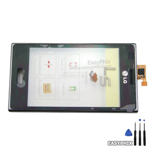 LG Optimus L5 E610 Digitizer Touch Screen with Frame