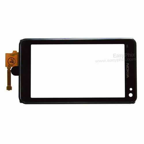 Nokia N8 Digitizer Touch Screen with Frame