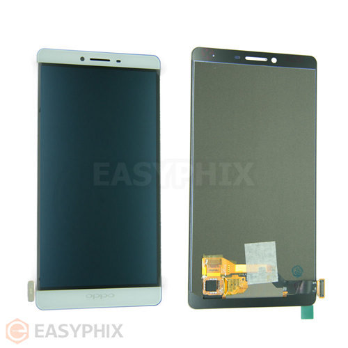 Oppo R7 Plus LCD and Digitizer Touch Screen Assembly [White]