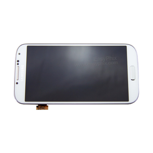 Samsung Galaxy S4 i9500 LCD and Digitizer Touch Screen Assembly with Frame [White]