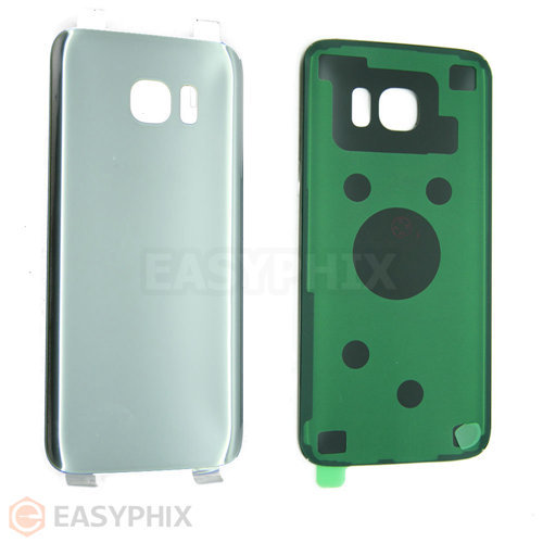 Back Cover for Samsung Galaxy S7 Edge G935 [Silver]