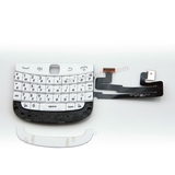 Blackberry 9900 Keyboard with Flex Cable Assembly [White]
