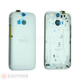 HTC One M8 Back Housing [Silver]