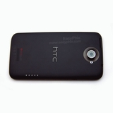 HTC One X Back Housing with Power and Volume Button [Black]