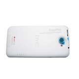 HTC One X Back Housing with Power and Volume Button [White]