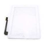 Digitizer Touch Screen with Adhesive Tape for iPad 3 4 (High Quality) [White]
