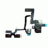 Headphone Audio Jack Volume Mute/Slient Switch Button Flex Cable [Black] for iPhone 4G