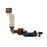 Charging Port Flex Cable with Microphone [Black] for iPhone 4S