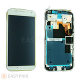 Motorola Moto X LCD and Digitizer Touch Screen Assembly with Frame [White]