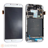 Samsung Galaxy S4 i9505 LCD and Digitizer Touch Screen Assembly with Frame [White]