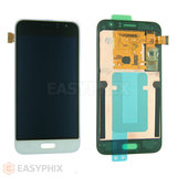 Samsung Galaxy J1 (2016) J120 LCD and Digitizer Touch Screen Assembly [White]